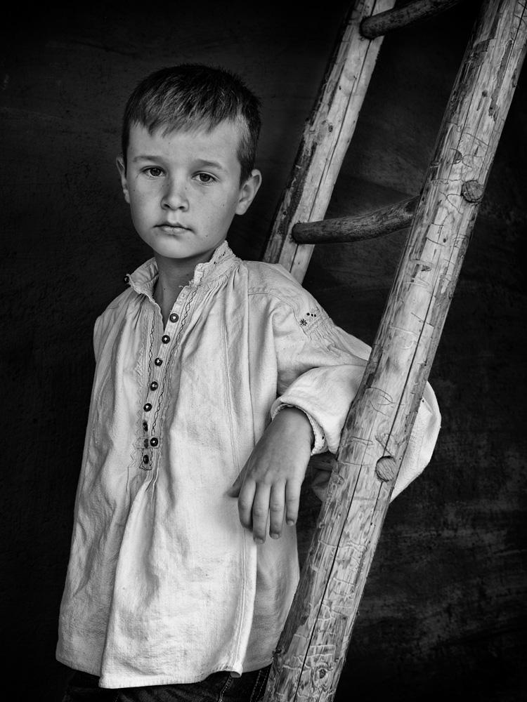 Marin boy portrait