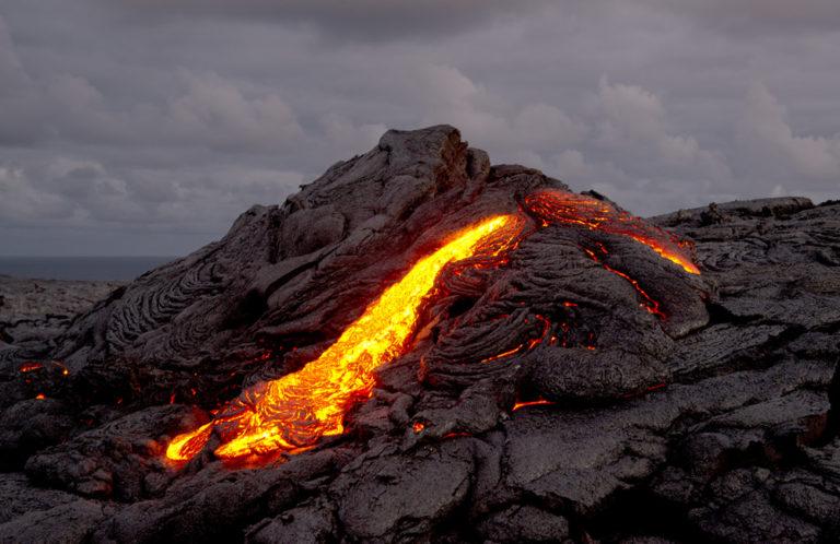 Pu'u O'o lava flow 001