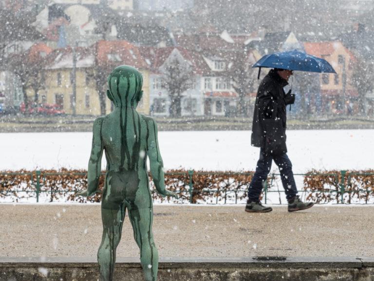 Winter i Byparken