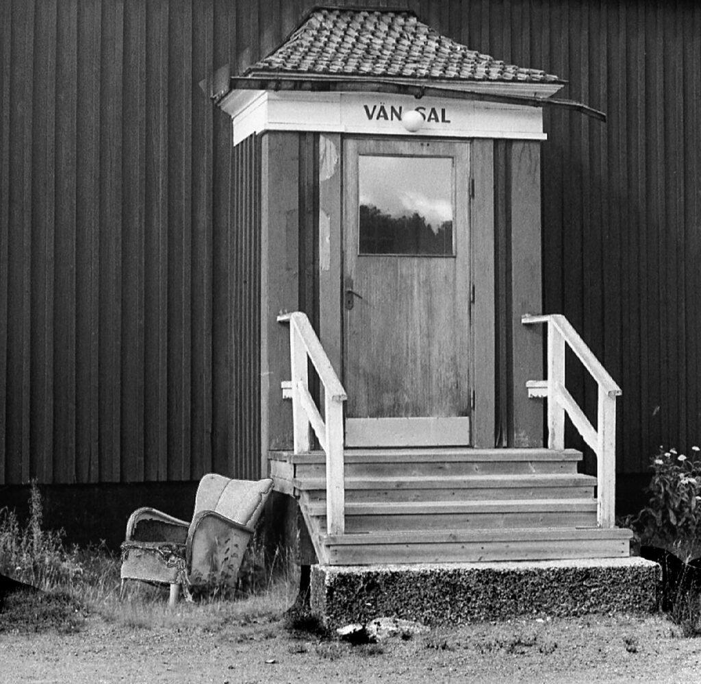 Sandsele väntsalingång (Gun-Inger Arvidsson)