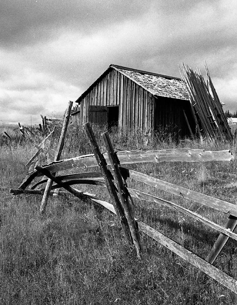Utterträsk hus med bräder (Gun-Inger Arvidsson)