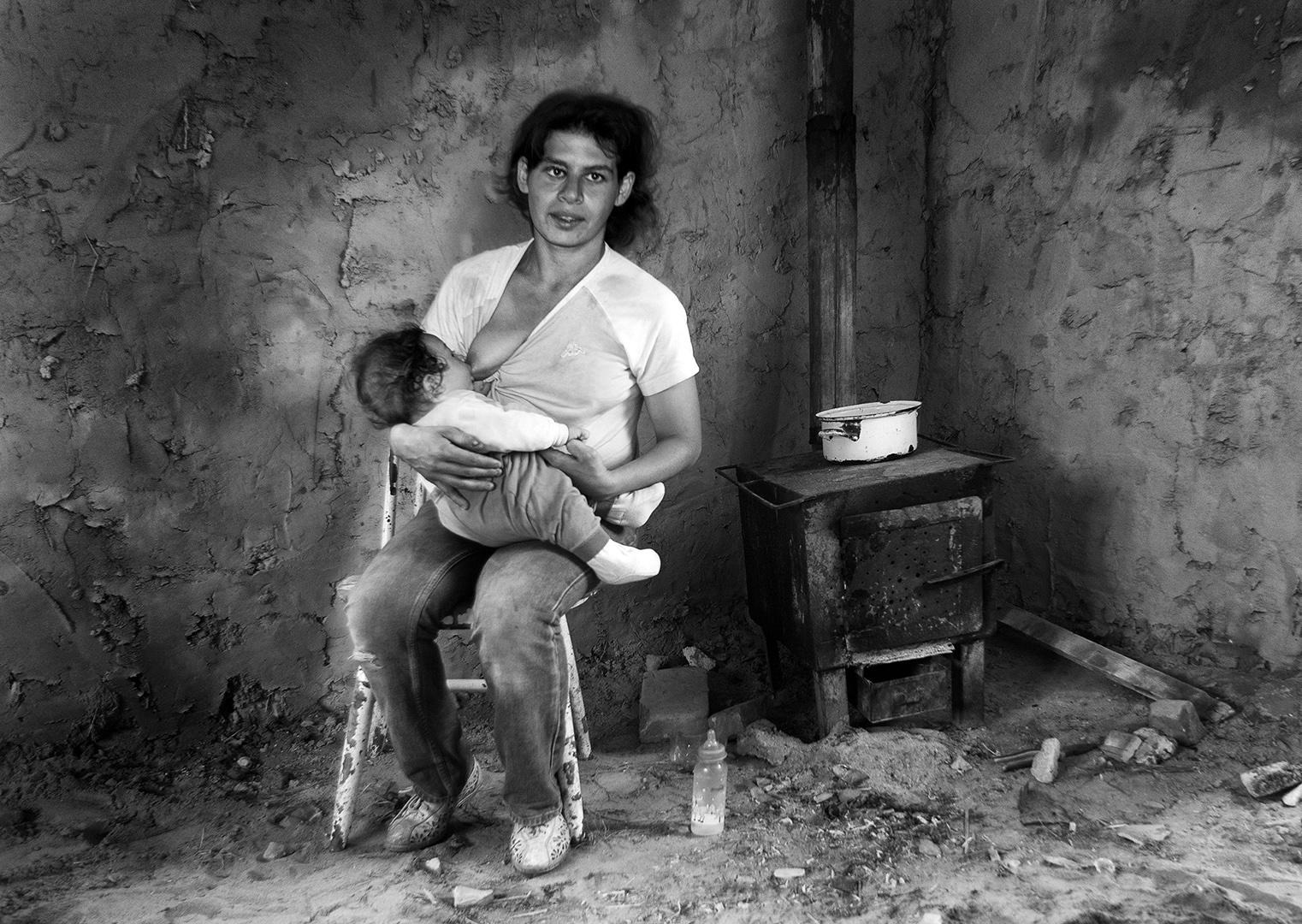 Young mother, Søren Skov