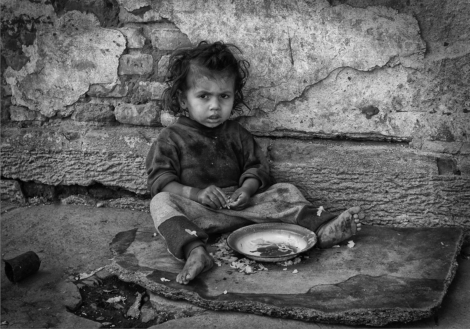Roma child, Søren Skov