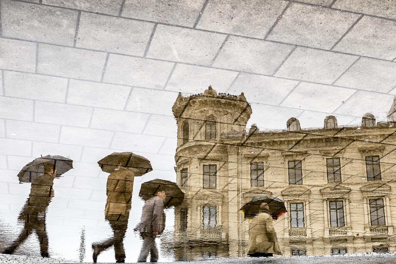 A Walk In The Rain, Tony Clementz