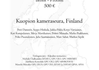 Kuopion Kameraseura, FI: Bronze medal