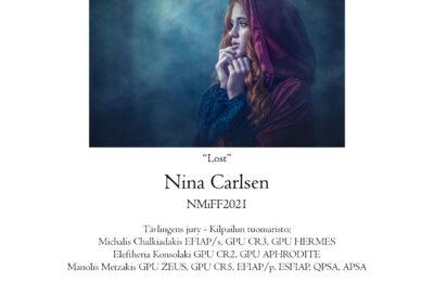 Nina Carlsen, Norway — Nordic champion, colour