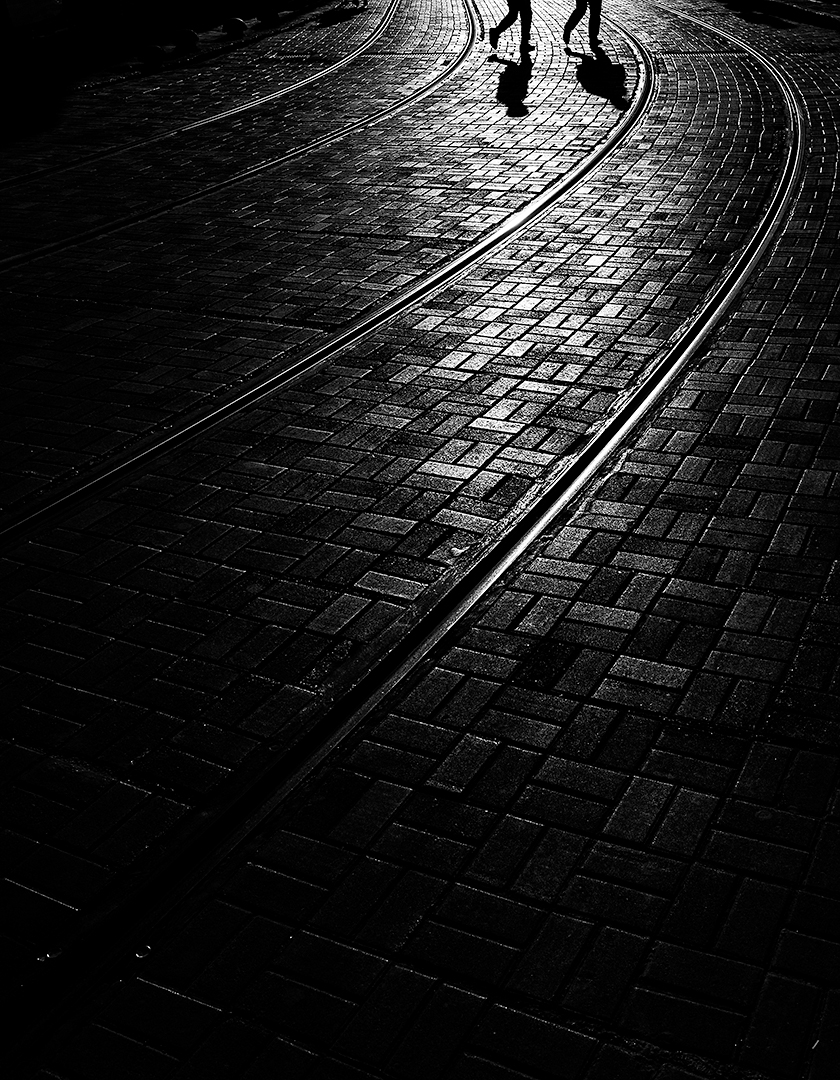 On tracks, Mats Grimfoot