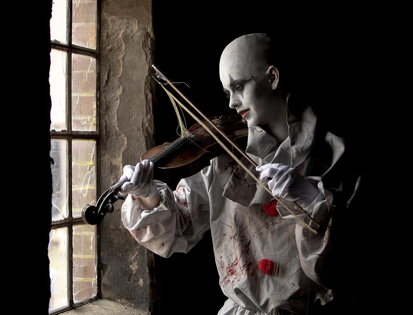 The Clown and the fiddle 1, Jørgen Kristensen