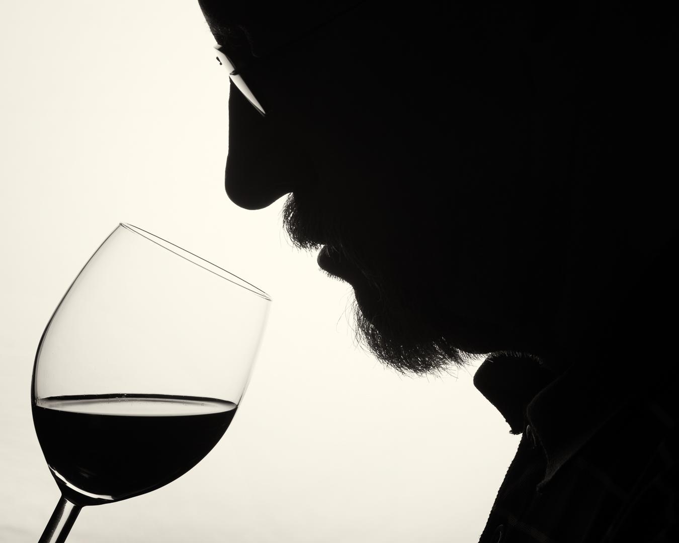 Wine tasting, Göran Zebühr